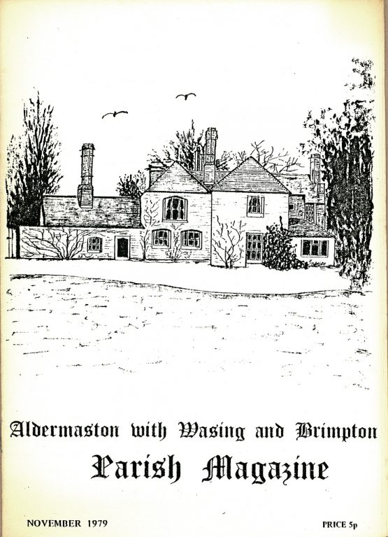 Parish mag cover- Well House, Aldermaston