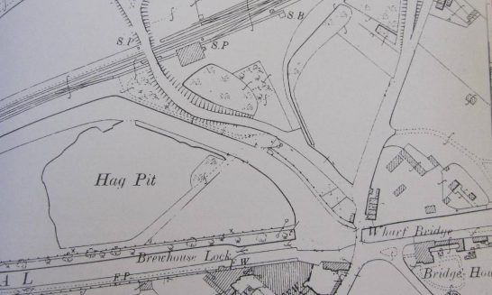 Location of Aldermaston Brewery