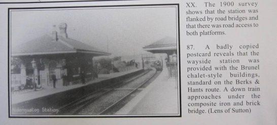 Brunel Station Buildings, Aldermaston | Middleton Press/Lens of Sutton
