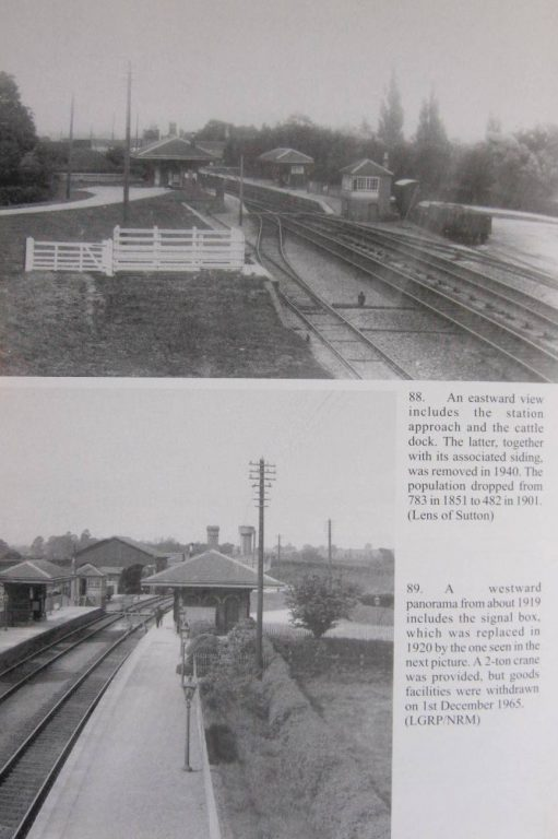 Views of the station from east and west | Middleton Press/Lens of Sutton/LGRP/NRM