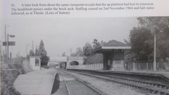 Showing buildings on north (up) platform replaced by simple shelter. Probably mid-late 1960s | Middleton Press/Lens of Sutton