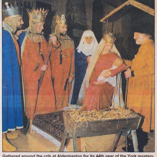 2000 York Nativity Play newspaper cutting