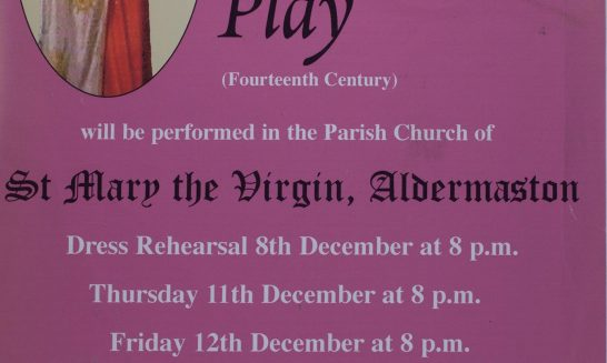 2003 York Nativity Play Poster