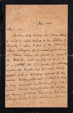 1899-Letter