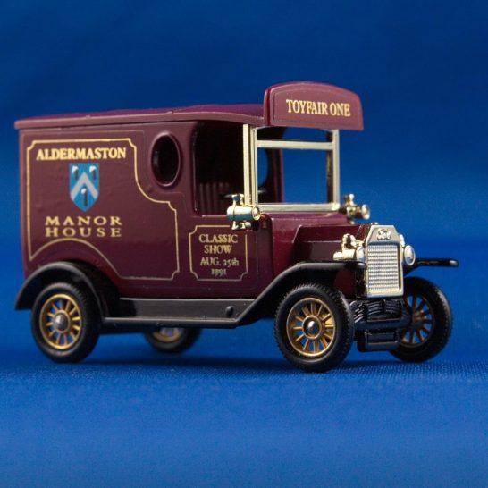 Model Van - 1992 Classic Show at Aldermaston Manor
