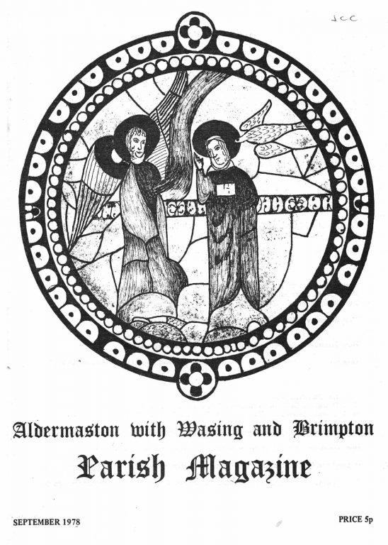 Parish mag cover- Annunciation, Sept 1978