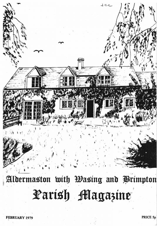 Parish mag cover- Fishermans' Cottages, Feb 1979