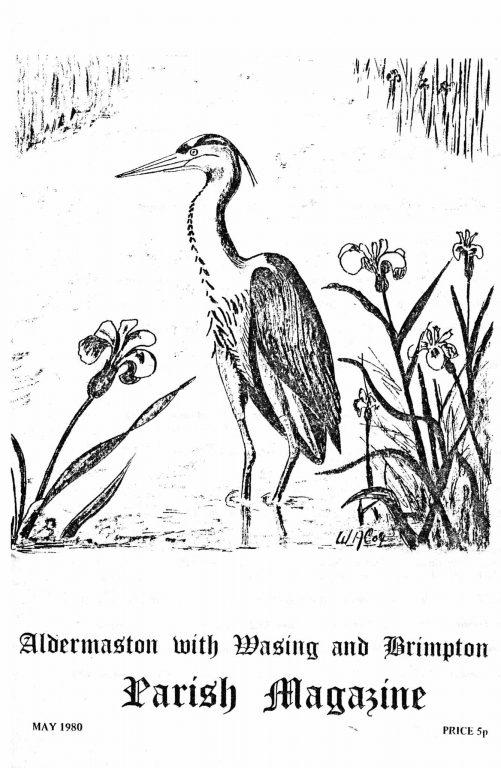 Parish mag cover- Heron, May 1980