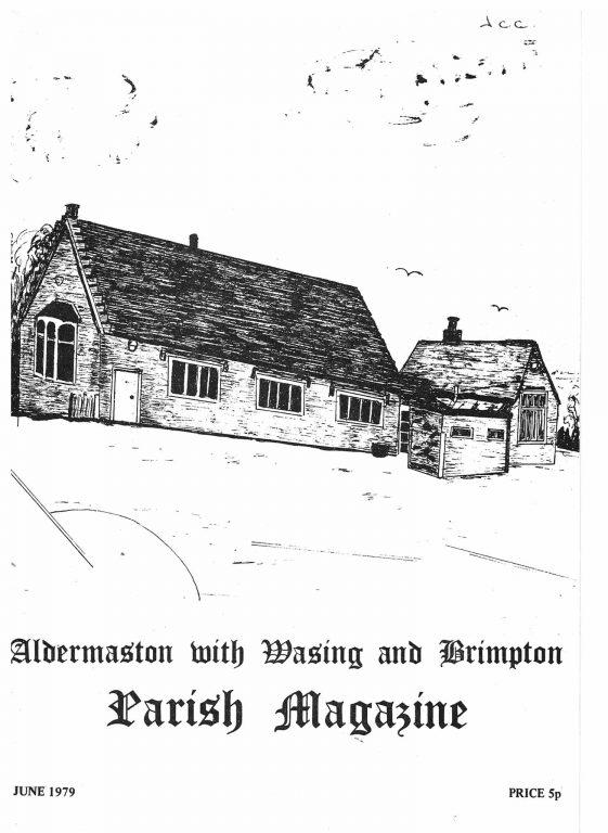 Parish mag cover- former primary school, June 1979