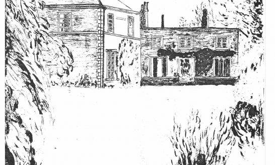 Parish mag cover- The Brook House, April 1979