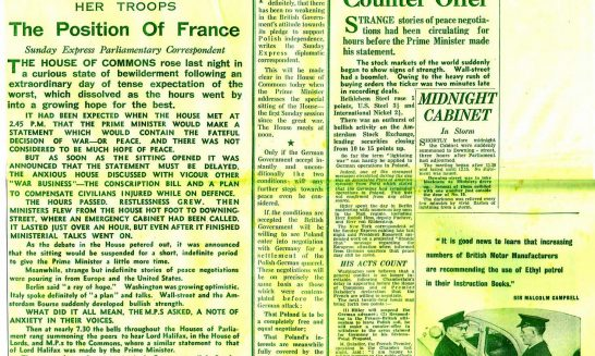 Press Coverage- Second World War