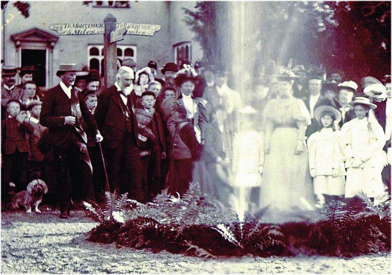 Waterworks 1896- closeup of the Keyser Family