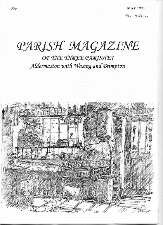Parish mag cover May 1978 | Mike Nethersole