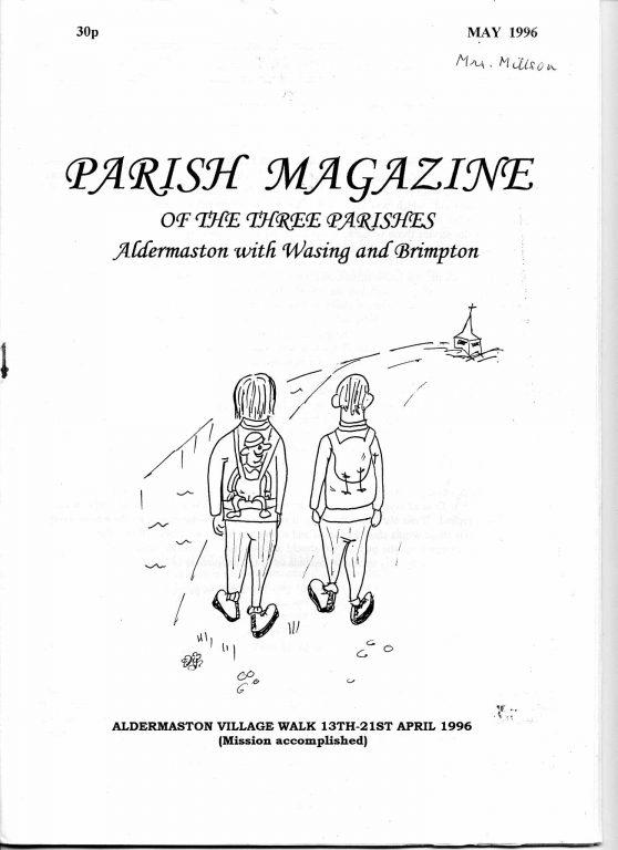 Parish mag cover April 1996