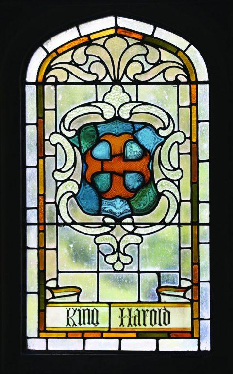 Manor House 1851- Hall window 1   Peter Oldridge