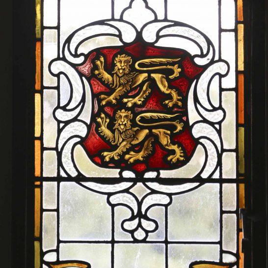 Manor House 1851- Hall window 3   Peter Oldridge