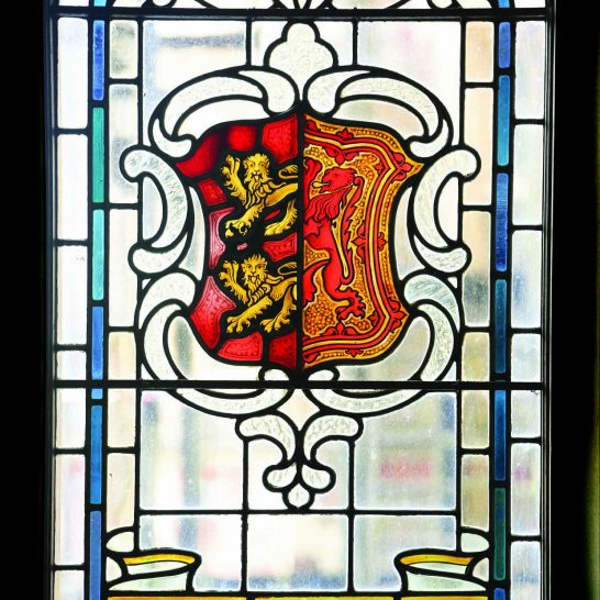 Manor House 1851- Hall window 4   Peter Oldridge