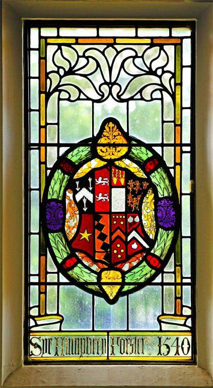Manor House 1851-Staircase window 1 | Peter Oldridge