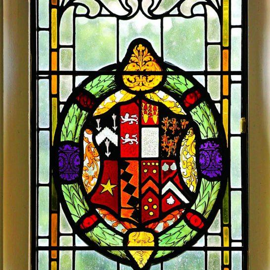 Manor House 1851-Staircase window 1   Peter Oldridge