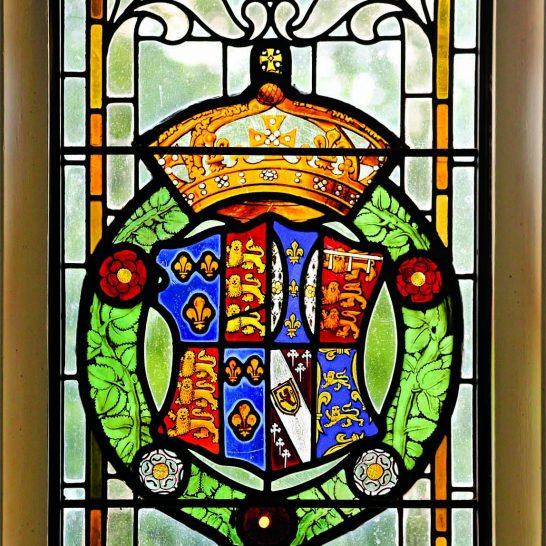Manor House 1851- Hall window 2   Peter Oldridge
