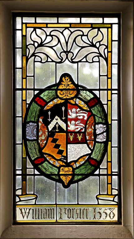 Manor House 1851- Hall window 4 | Peter Oldridge