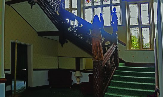 Manor House 1851- Staircase