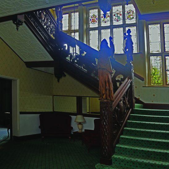 Manor House 1851- Staircase | Peter Oldridge