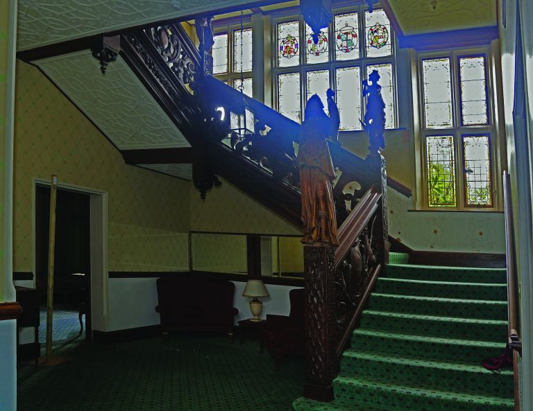 Manor House 1851- Staircase | Peter Oldridge