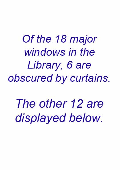 Manor House 1851 preface to the Library windows