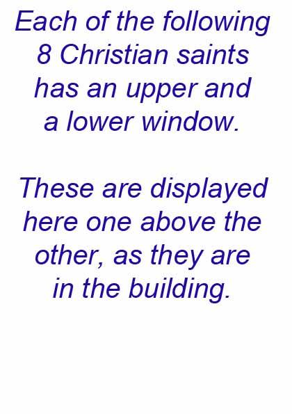 Manor House 1851- preface to the Saints' windows