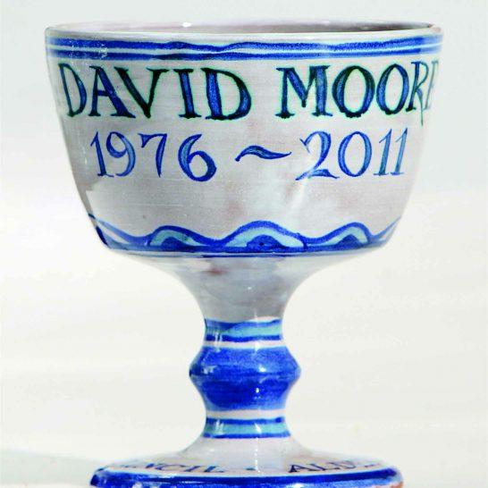 Aldermaston Ceramics- thank-you cup for David Moore
