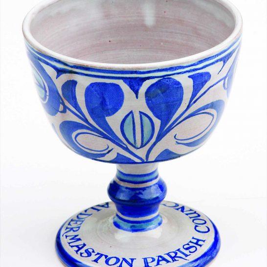 Aldermaston Ceramics- base of David Moore's cup
