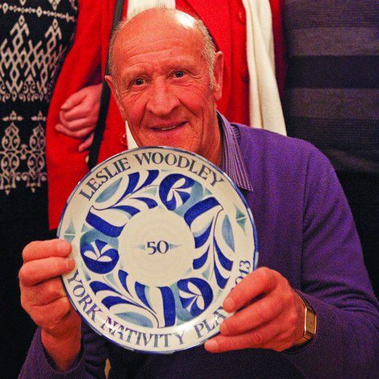 Aldermaston Ceramics- YNP plate for Les Woodley | Peter Oldridge 2007