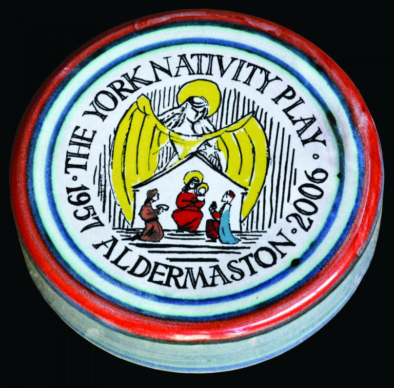 Aldermaston Ceramics- YNP 50th paperweight