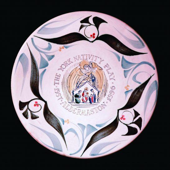 Aldermaston Ceramics- YNP 40th Plate