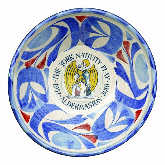Aldermaston Ceramics- YNP 60th plate