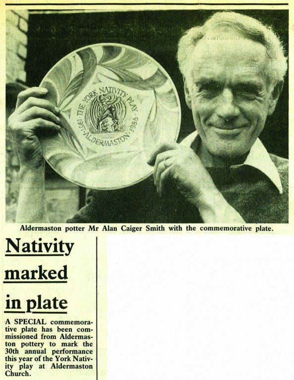 Aldermaston Ceramics- Press coverage of Alan Caiger-Smith