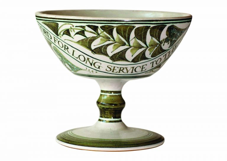 Aldermaston Ceramics- 2nd view of Olive Ford's cup