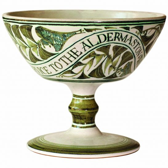 Aldermaston Ceramics- 3rd view of Olive Ford's cup