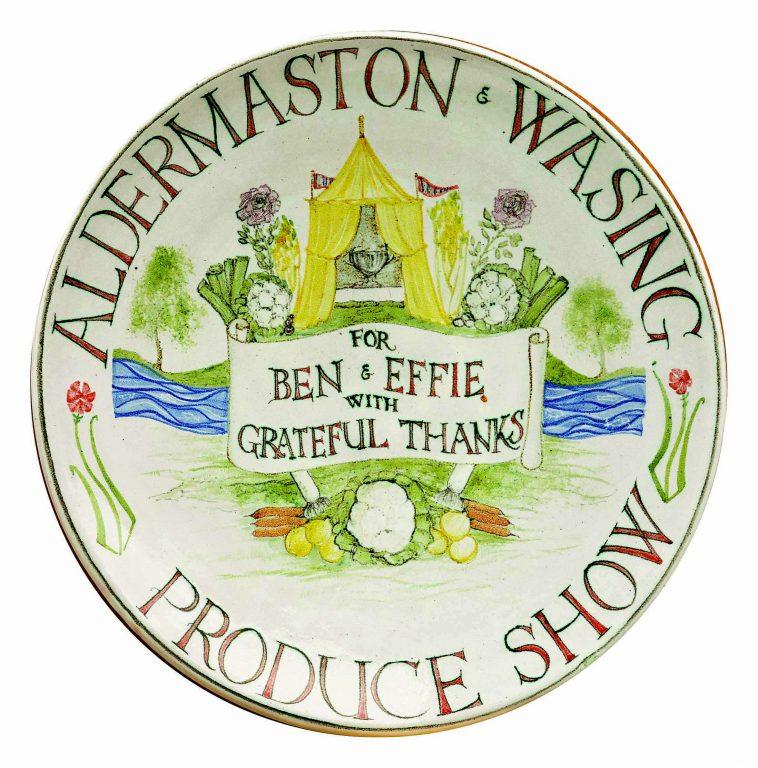 Aldermaston Ceramics- Show thank-you plate