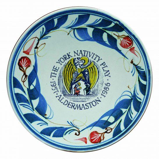 Aldermaston Ceramics- YNP 30th plate 3