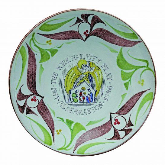Aldermaston Ceramics YNP 40th plate-2