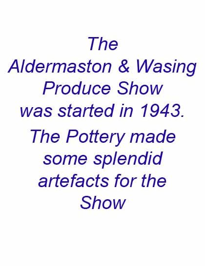Aldermaston Ceramics- prelude to the Show