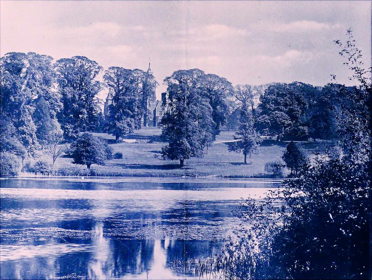 Manor House Lake in 1893