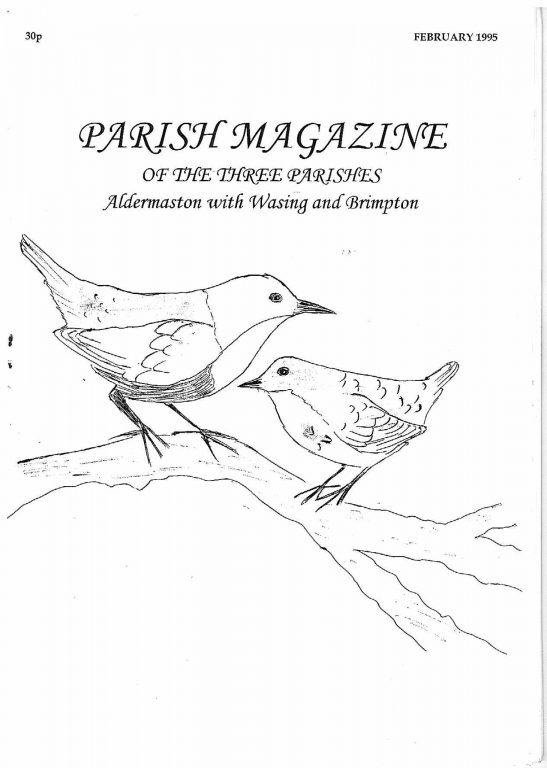 Parish mag cover Feb 1995