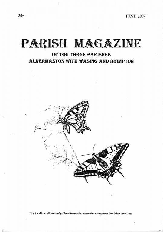 Parish mag cover June 1997