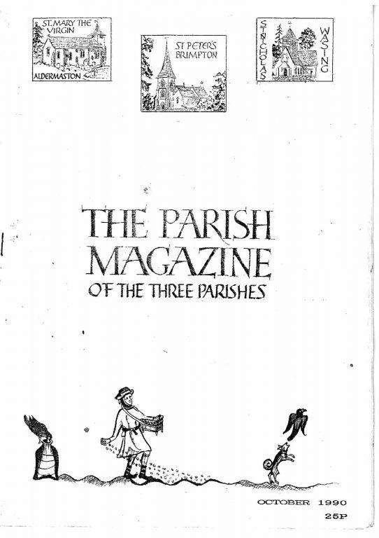Parish mag cover Oct 1990