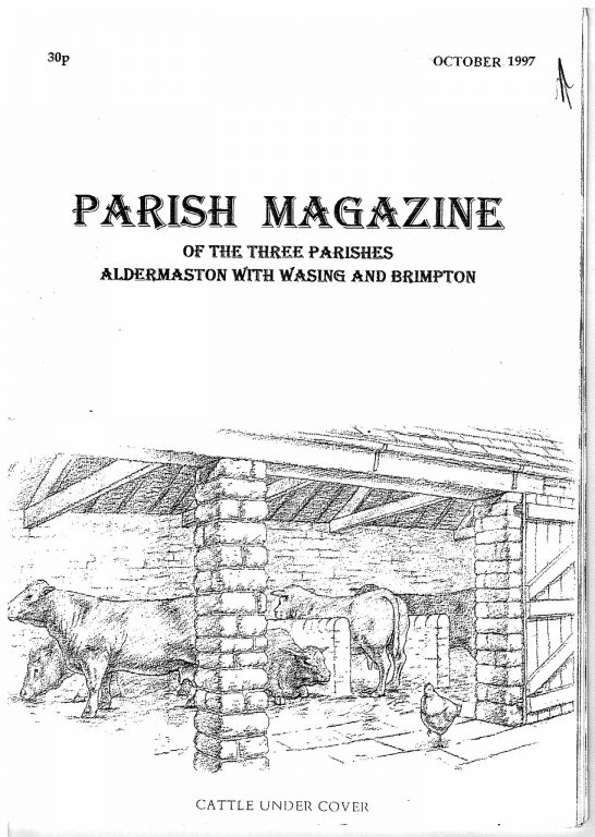 Parish mag cover Oct 1997