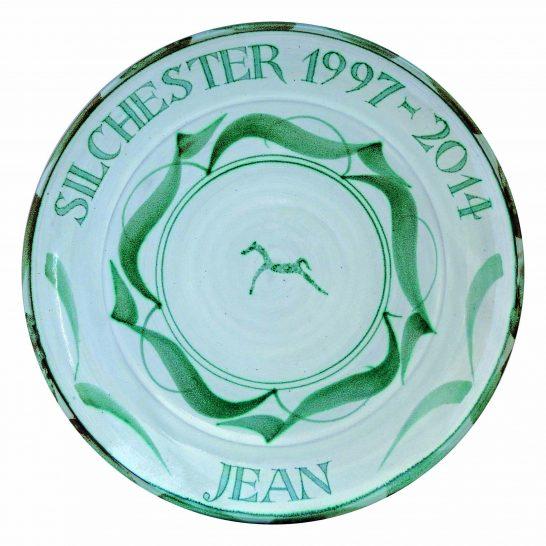 Aldermaston Ceramics- Jean's Plate | Ursula Waechter