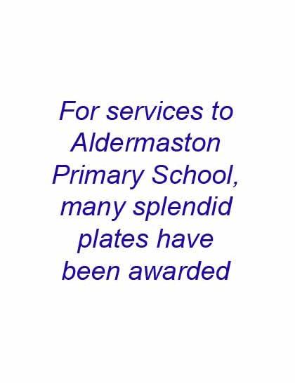 Aldermaston Ceramics- service to the Primary School | Peter Oldridge